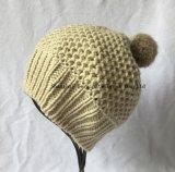 Горячий продавая шлем с Pompom шерсти (JTB246)