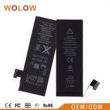 Venta caliente de alta calidad de 1510mAh Batería de móvil para el iPhone 5G
