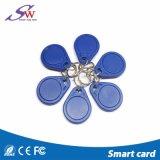 Offre spéciale de trousseau de clés en plastique sec d'IDENTIFICATION RF de LF