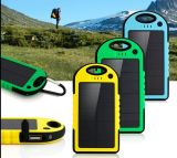 USB Port Battery Charger di Dual della Banca di 5000mAh Solar Power