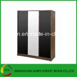 Novo Quarto Melamina Roupeiros em madeira & Closet armário (preço de fábrica)