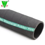 Source directe de 6 pouces de flexible en caoutchouc de la rugosité léger ou d'aspiration flexibles d'eau de décharge