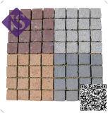 Goedkope Straatsteen van het Graniet 10X10 van de fabriek de In het groot Grijze