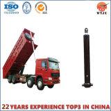 Cylindre hydraulique à plusieurs étages télescopique frontal pour le camion à benne basculante