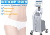 Hifu Ultherapy cara de la máquina de elevación de la piel