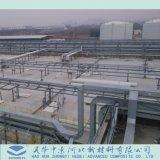 廃水および化学工業に使用するFRP GRPの管