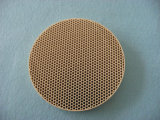 Plat en céramique de four de cordiérite infrarouge de nid d'abeilles pour le brûleur