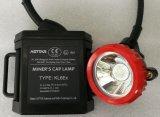 지하 채광 램프 Atex를 위한 재충전용 광업 LED 모자 램프