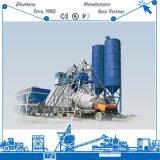 Preço concreto de tratamento por lotes concreto da planta de mistura da planta da construção amplamente utilizada da grande capacidade Hzs75