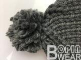 De forma artesanal quente espesso Beanie Hat