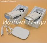 Travail convexe de sonde de petit ultrason sans fil sur l'iPad d'iPhone