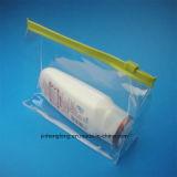 명확한 PVC 장식용 패킹 부대 PVC 메이크업 부대 (jhf-023)
