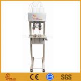 Halbautomatisches Vakuumflüssige Einfüllstutzen-Flüssigkeit waagerecht ausgerichtetes Steuerfüllmaschine