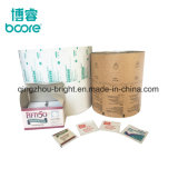 El papel de aluminio laminado de papel para la almohadilla de alchol fabricante de China