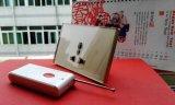 Yingxin Via Ios와 인조 인간 전화 APP에 의하여 지능적인 WiFi 원격 제어 벽면 소켓