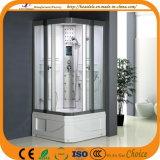 Cabina lateral de la ducha de la puerta deslizante de la base cuadrada 2 (ADL-8810)