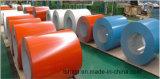 Prepainted ou bobina de aço com revestimento de cor ou cores PPGL PPGI aço galvanizado revestido