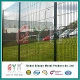 Frontière de sécurité soudée par métal peinte galvanisée par 2m*2.5m de la Qym-Frontière de sécurité 3D