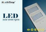 녹색 에너지 자동 느끼는 시간 등화관제 LED 태양 가로등