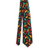 Cravate en soie 100% soie en polyester sur mesure (NT-001)