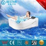 Al lado de la luz de color nuevo estilo de bañera de masaje de 1 metro de cascada (BT-1050)