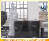Het graniet zegende Maagdelijke Mary Statue Monument