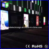 Outdoor Waterproof LED Sign Feito de alumínio