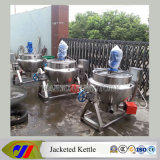 100L Gas Heating Jacketed Kettle con Stirrer