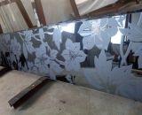 L'acide 4mm gravé verre décoratif d'encre