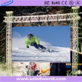 P6スキー競争のための屋外のレンタルフルカラーのLED表示パネル