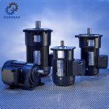 алюминиевый электрический двигатель шестерни одиночной фазы тормоза 100-2200W с вертикальным светлым типом обязанности - e