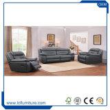 Il materiale americano del cuoio di stile di alta qualità per il sofà ha impostato con la sezione comandi