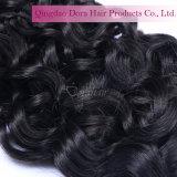 Unverarbeitetes malaysisches Jungfrau-Haar-Bündel behandelt GroßhandelsRemy Menschenhaar
