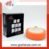 Fábrica de China Almohadilla de esponja de pulido de color amarillo naranja