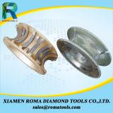 Diamant, der Hilfsmittel für Fräser-Bits von Romatools ein Profil erstellt