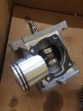 El Duster Mistblower Mist Pulverizador Pulverizador de mochila poder motorizado de aros de pistón de la bobina del silenciador de escape del cilindro juntas chispa CAJA DEL CIGÜEÑAL