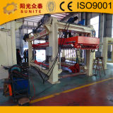 La Chine machine à fabriquer des blocs de béton