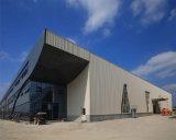 De Hangaar die van de Luchthaven van het staal de Geprefabriceerde Industriële Verkoop van Loodsen trekken