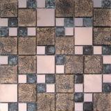 L'art en verre décoratif de couleur Golden Mosaic/Mosaico (VMW3204)