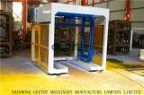 China10-15Qt c tamanhos de blocos de concreto de intertravamento de máquinas no Quênia