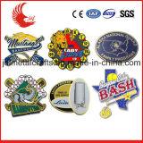 Metallhauptmaterial-und Überzug-Technik-kundenspezifisches Polizeichef-Abzeichen
