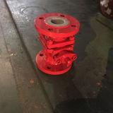 鋳造物の鋼鉄ボディライニングFaの球Valve