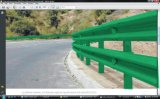 La Autopista del guardarraíl enrolladora de Bohai