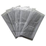 Masque protecteur vérifié gris et blanc de paquet de d'une seule pièce petit de modèle
