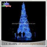 [3د] خارجيّة أرجوانيّة عيد ميلاد المسيح كرة يشعل شجرة مع [لد] مسيكة
