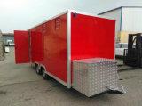 De Tranda Gemaakte Vrachtwagens van het Voedsel de Mobiele Aanhangwagen van het Voedsel