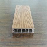 Decking composé en plastique en bois pour la piscine
