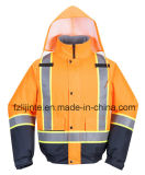 2016 Jacket Segurança Inverno Alta Visibilidade Vestuário Bomber