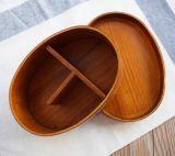 Безопасная деревянная коробка обеда суш