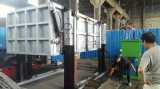 Cilindro hidráulico montado caminhão do cilindro de vários estágios aéreo do petróleo da taxa das plataformas
